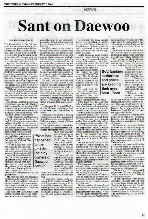 John Dalli and the Daewoo Scandal