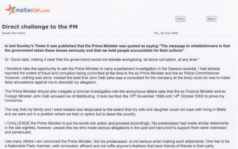 Dalli Must Be Investigated