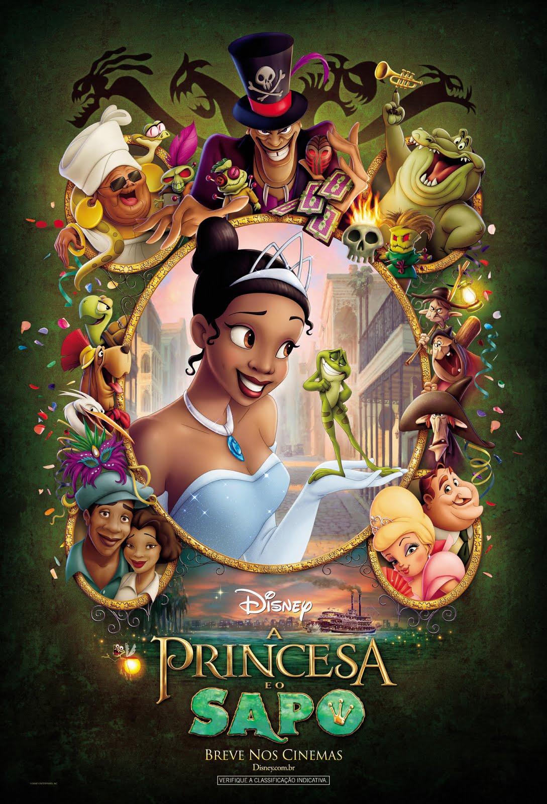 A Princesa e o Sapo – Dublado