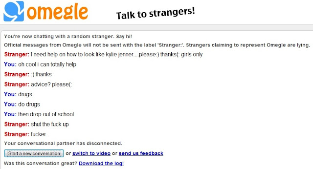 Dirty Omegle Chat Logs
