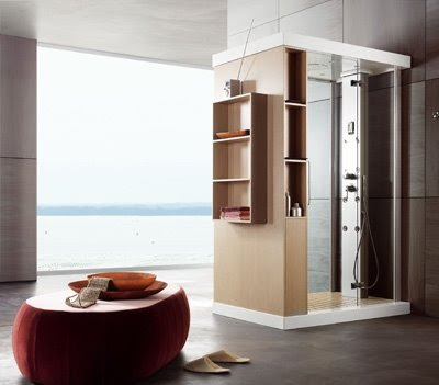 Amazing-furnished-with-modern-interior-design-bathroom-with-contemporary-shower-cabin-shelves-and-furniture