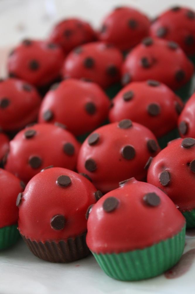 How To Make Ladybug Cake Pops Video