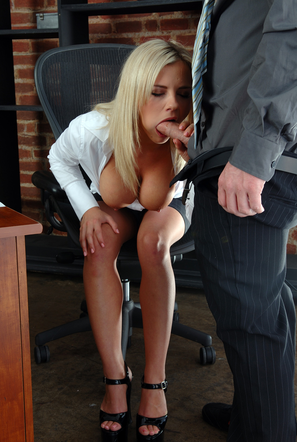Office slut amateur
