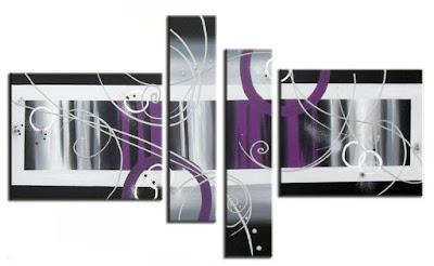 Tienda lamparas y cuadros online enero 2011 - Cuadros verticales modernos ...