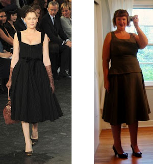Full circle skirt, served three ways…