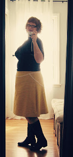 Self-Stitched September &#8211; Day 8. Pears, A-lines and pencil skirts