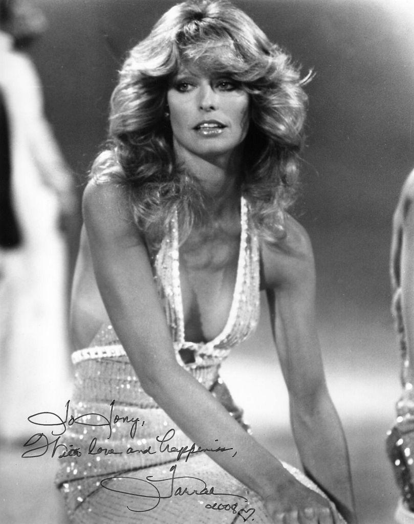 Blonde du Jour: Farrah Fawcett