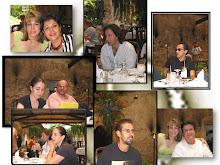 Miriam (Chile), Vero, Gaby, Shanty, Luis, Alfred (Guatemala), Martín (Paraguay), Stéfano (Italia)