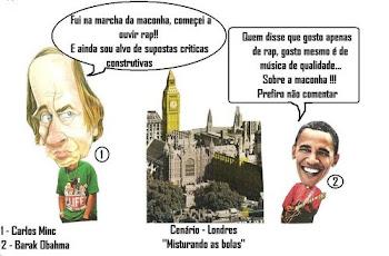 Carlos Minc e Obahma