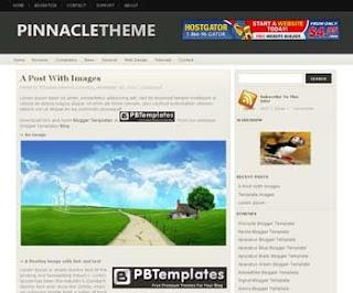 Pinnacle Blogger Template