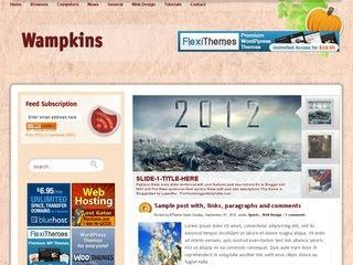 Wampkins Blogger Template