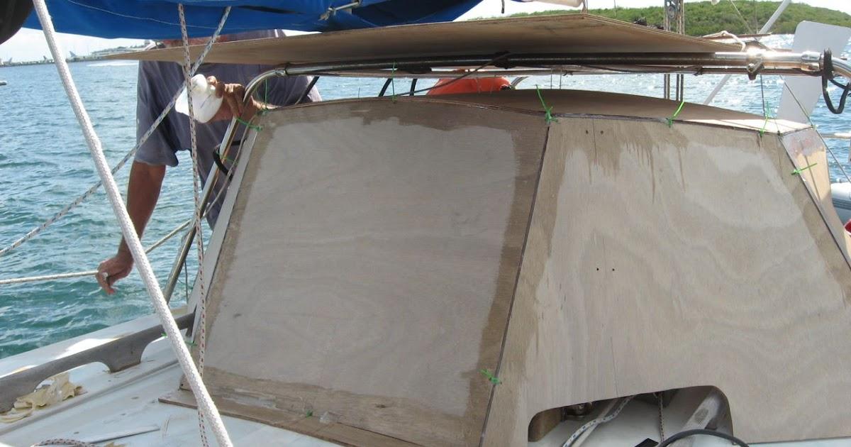 Boat Bits: Hard Dodger... Day 2