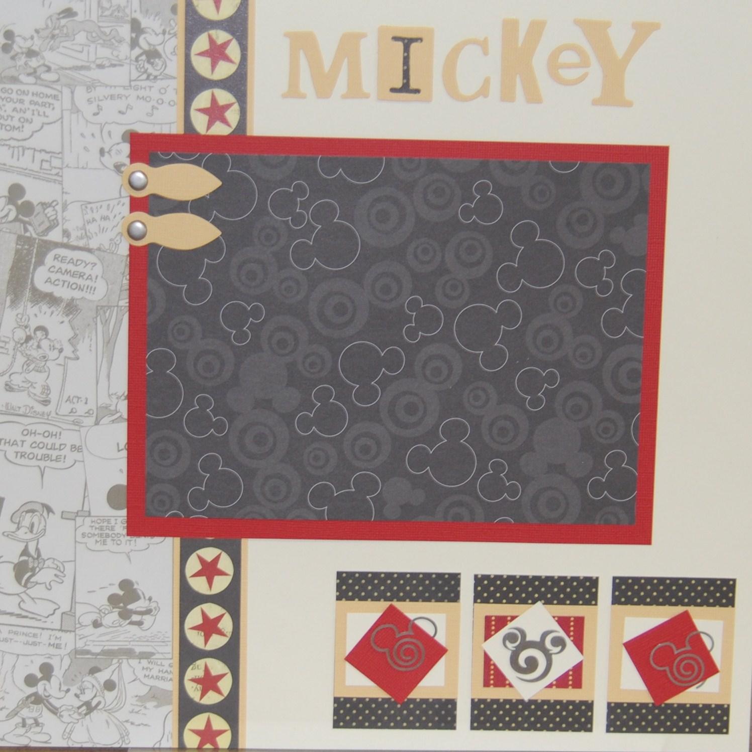 How to scrapbook disney - How To Scrapbook Disney 20