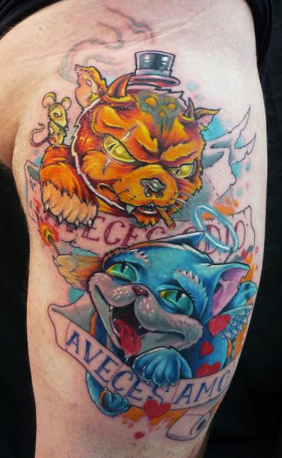 Tattoo para fu