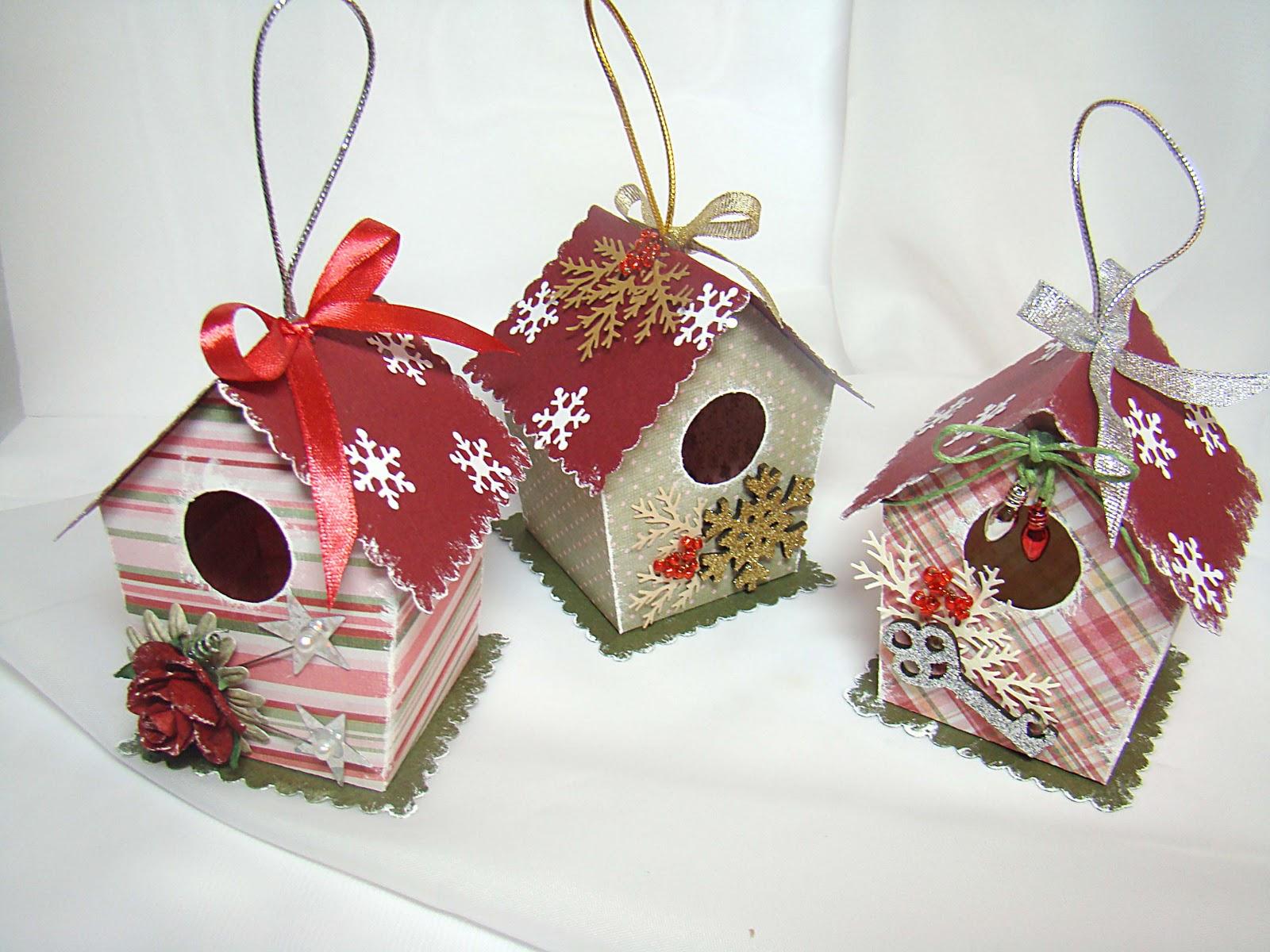 Картонные игрушки на елку своими руками