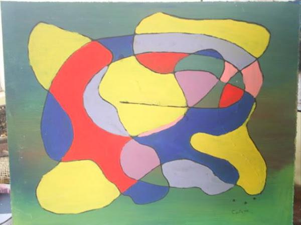 Tortuga(pintura abstracta)