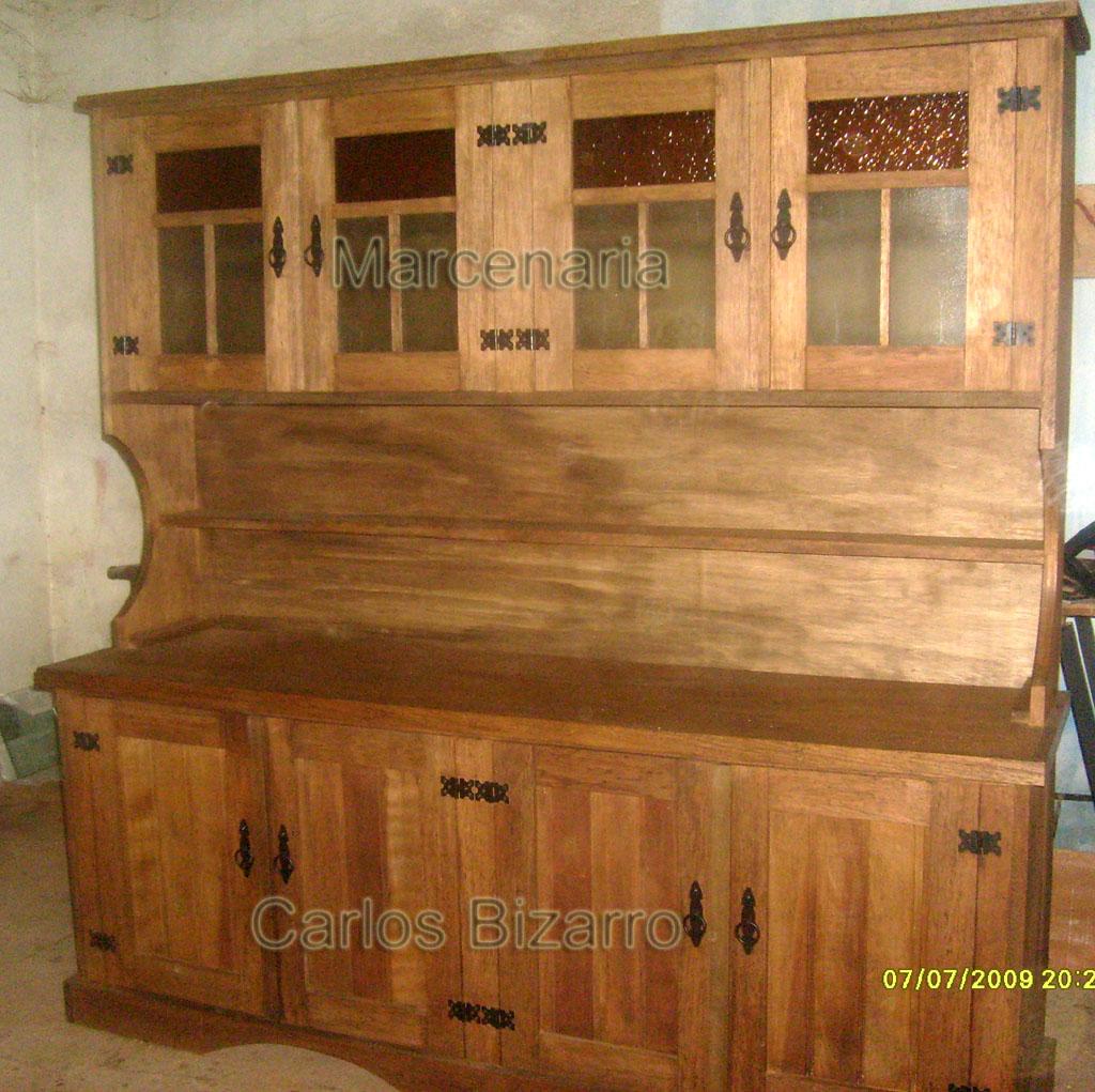 #77431A Armário de cozinha em cedro alagoano 8 portas vidros coloridos  1024x1021 px armário de madeira rústica @ bernauer.info Móveis Antigos Novos E Usados Online