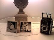 gammelt kamera og foto