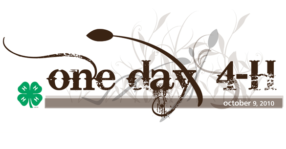 One-day 4-H Logo
