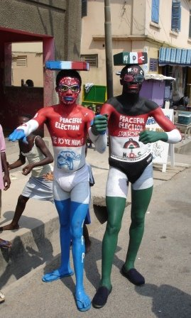 Pre-election campaigning-Ghana style!