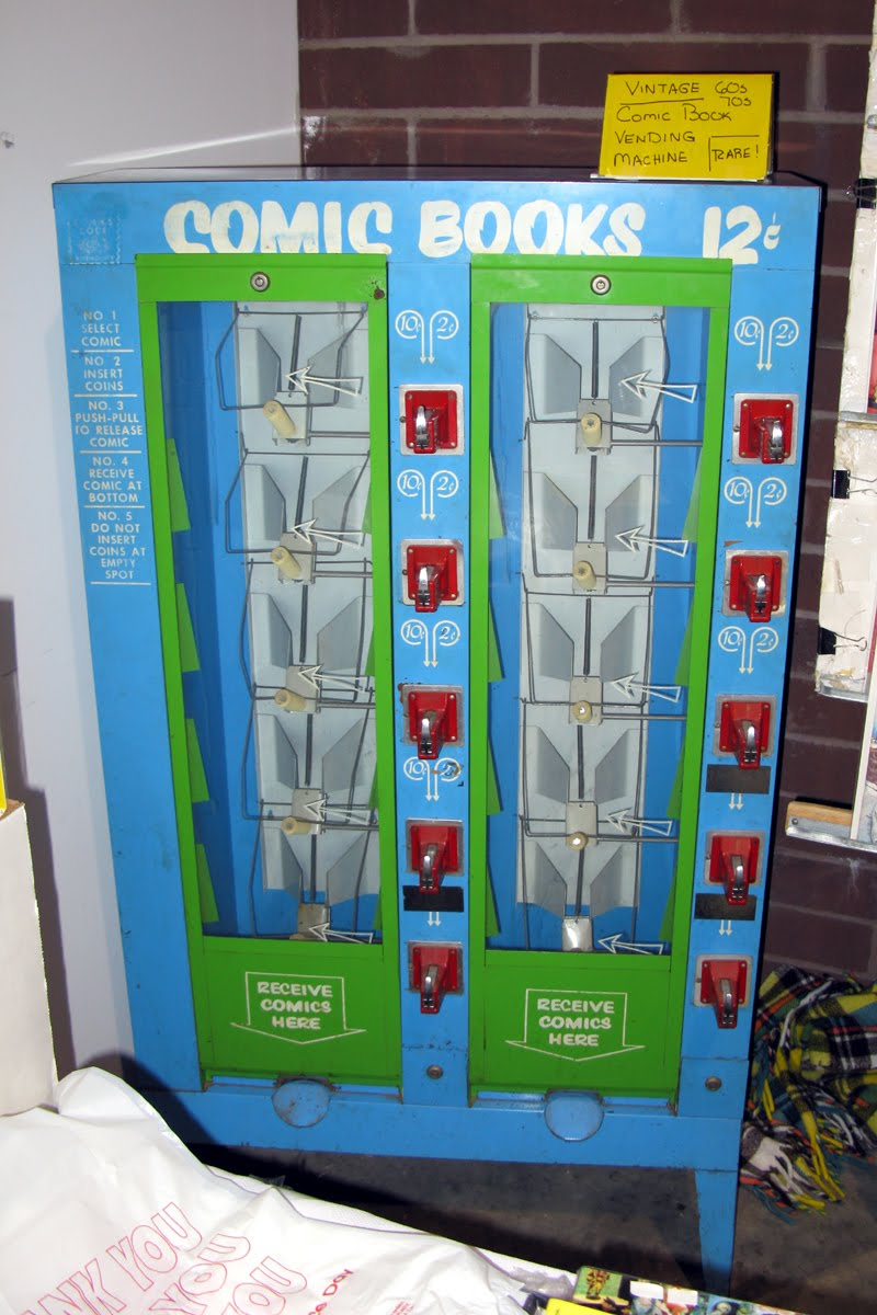 Cigarette Vending Machine Flowers and.