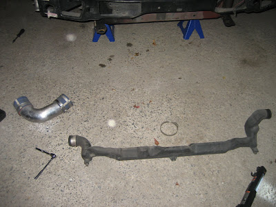 Nissan Skyline GTR balance pipe for recirculation