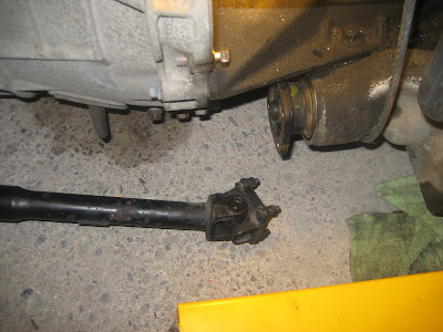 Engine AWD Transfer Shaft