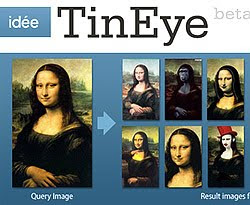 Search your images online with TinEye