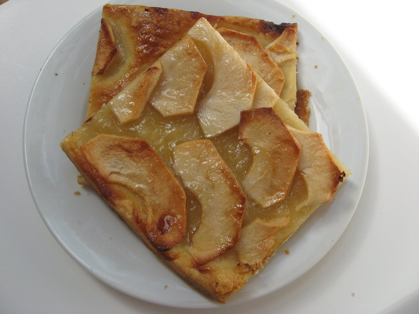 she's in the kitchen: barefoot contessa's french apple tart