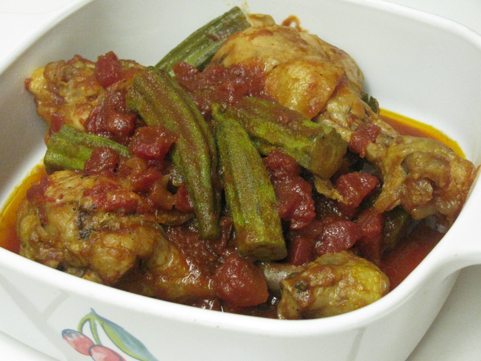PASSION ON THE STOVE TOP: Chicken MUAMBA/Apritada