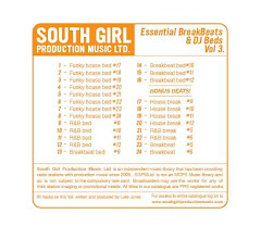Essential Breakbeats and DJ Beds Vol.3 - South Girl Production Music Ltd (2008)