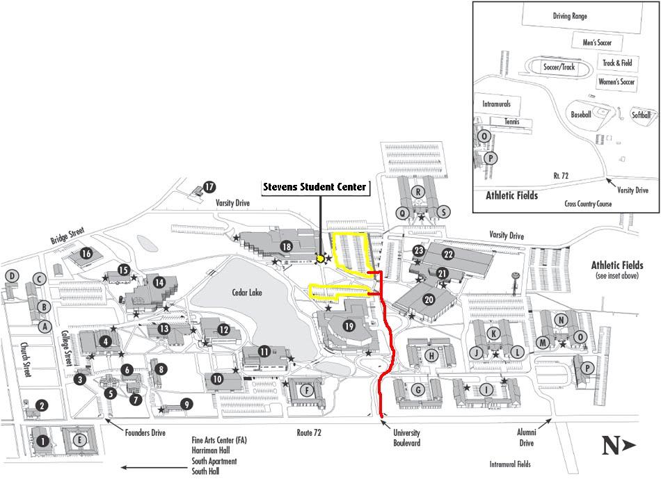 Equilibrium Campus Map