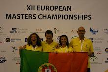 12.º CAMPEONATO DA EUROPA MASTERS