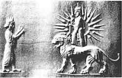نگاره شير و خورشيد نماد ملي ايرانيان