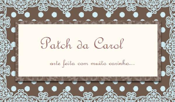 Patch da Carol