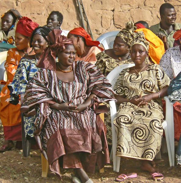 Malian Ladies in Beautiful Boubous