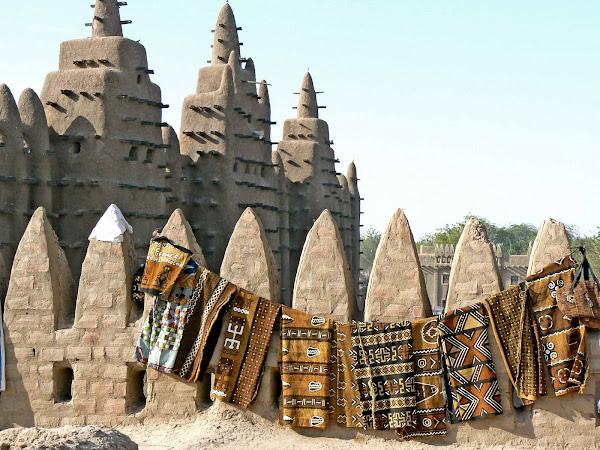 Mud Cloth in Djenne