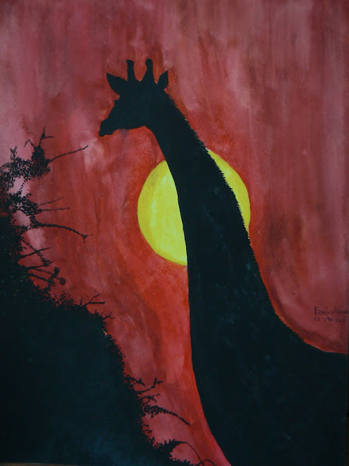 Giraffee Silhouette