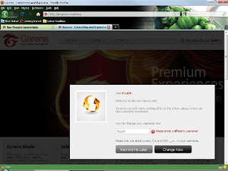 Rename Your Garena ID for Free