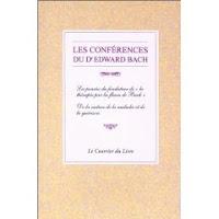 Livre: Les conférences de Dr Edward Bach