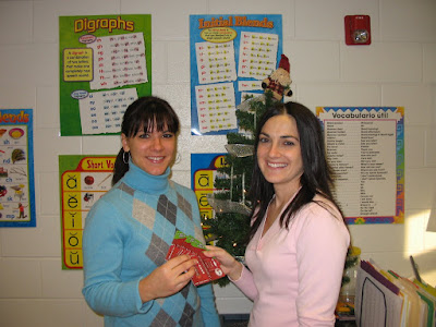 Mary Farver, Animal Resource Center board member (left), surprises Gas N Go winner Mary Kisatsky (right) with $1,000 in gas gift certificates.  Mary Kisatsky is a special education teacher in the Hazleton Area School District.  She won the $1,000 in gas gift certificates from a fund raiser raffle for the Animal Resource Center, Bloomsburg.