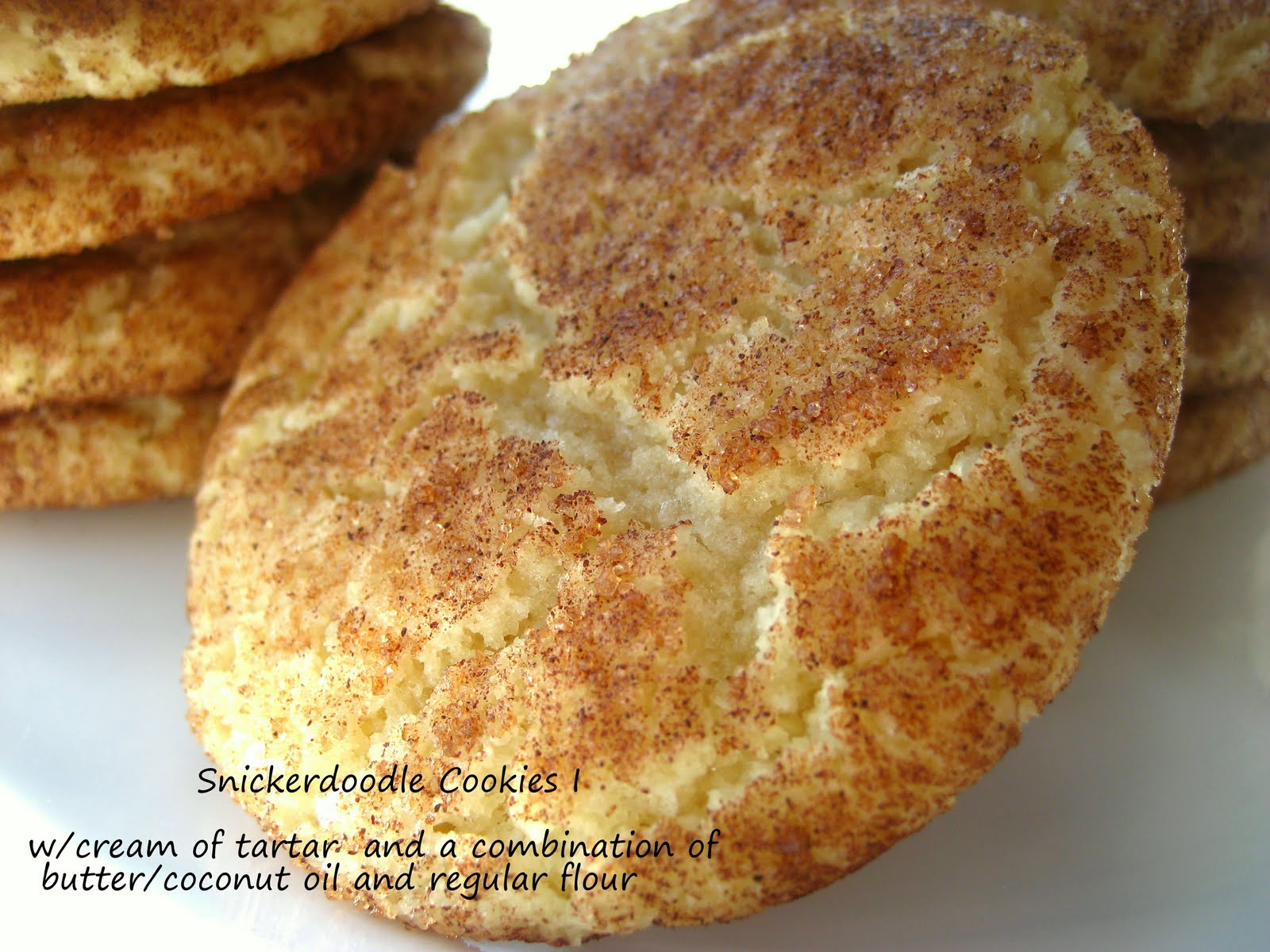 Home Cooking In Montana: My adventure with Snickerdoodle cookies...
