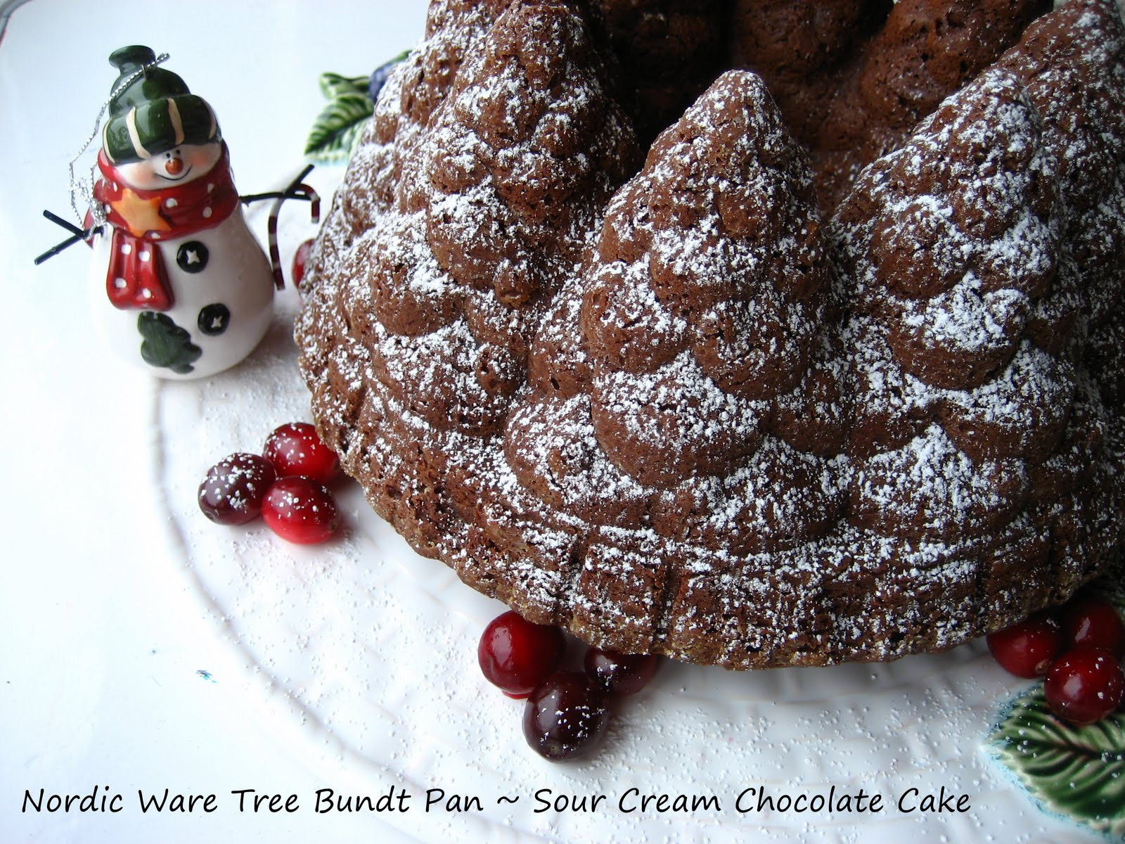Christmas Tree Bundt Cake Recipes