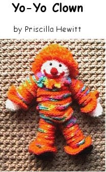 Crochet Patterns To Donate : Dolly Donations: Fun Free Crochet Clown Pattern - Perfect for a Boy ...
