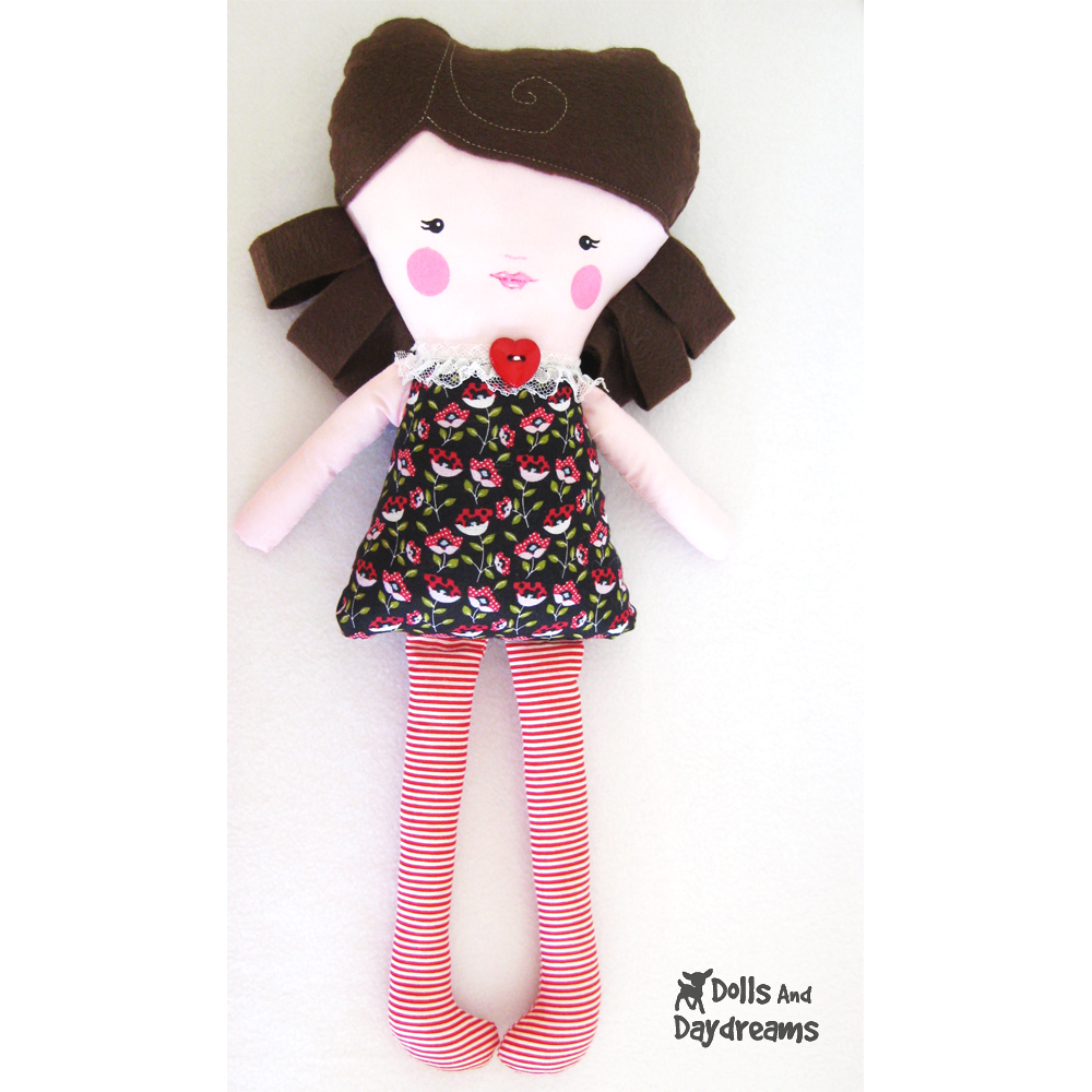 Best Free Soft Doll Patterns images in