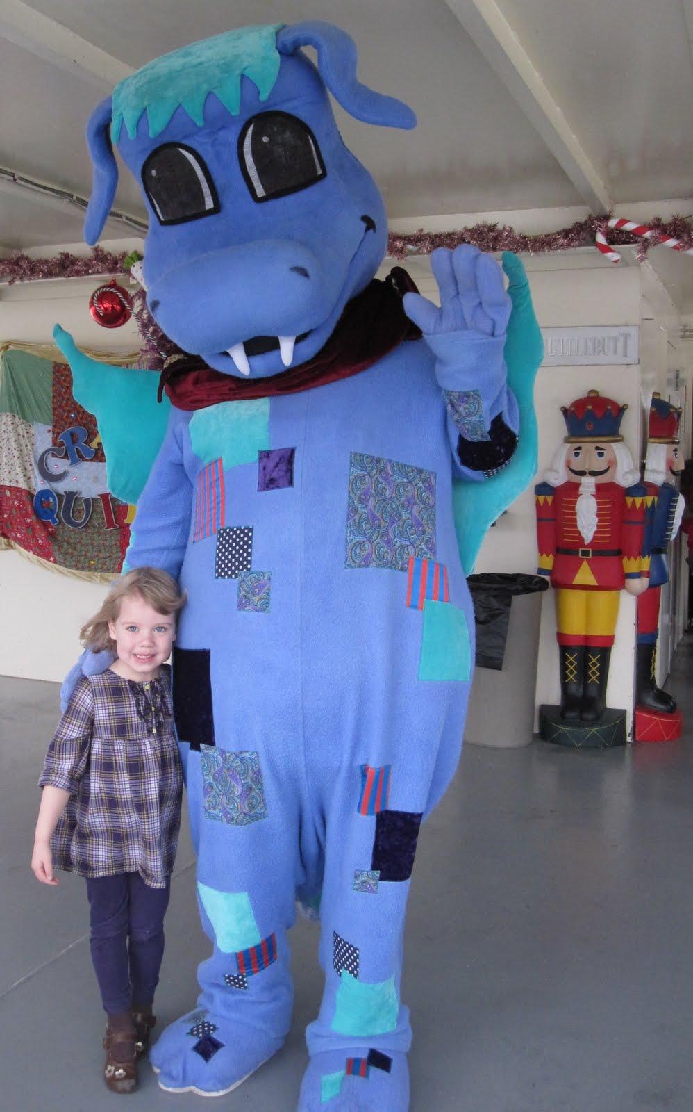 Maya and Brooklyn: The Portland Spirit: Cinnamon Bear Cruise : crazy quilt dragon - Adamdwight.com