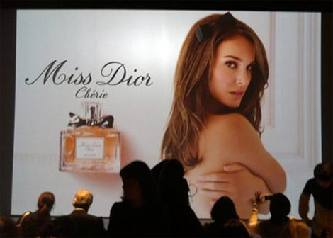 1) Natalie Portman for Dior The gorgeous miss Portman is the new face of