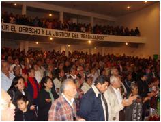 Misa En nuestro Glorioso Sindicato Mexicano de Electricistas Div. Necaxa