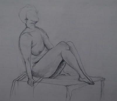 nude studyb 3 '90