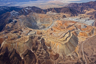 Puit de mine de Bingham Canyon